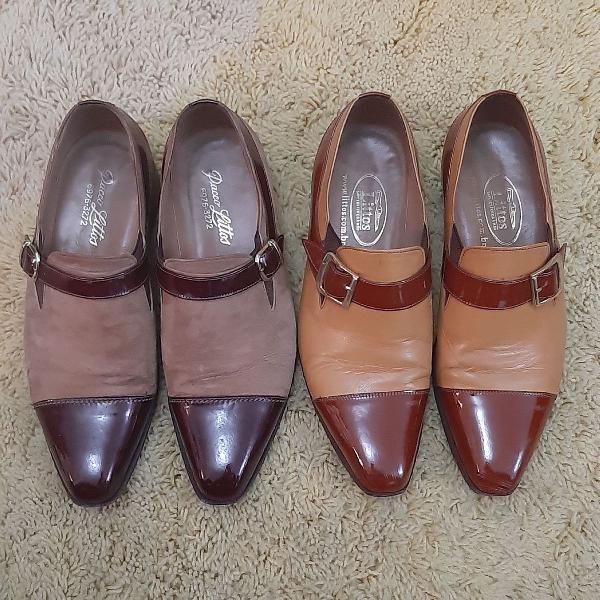 Sapatos couro 37