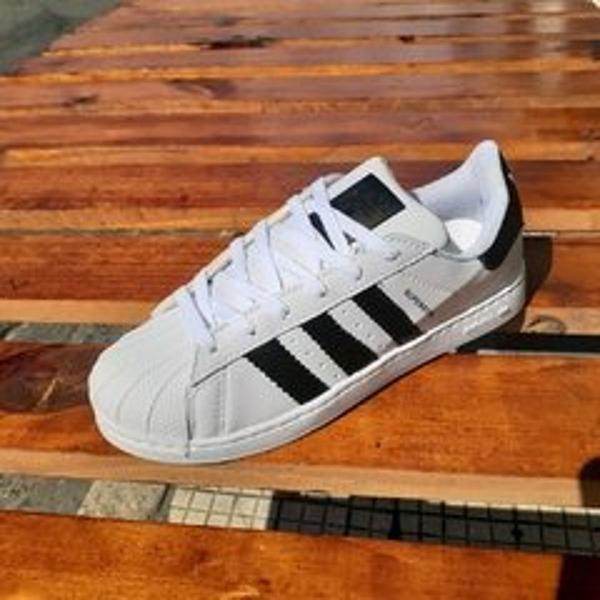 Tênis adidas superstar branco/preto 40