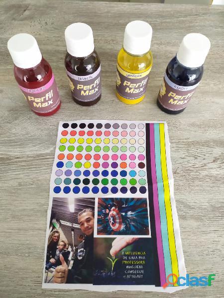 Limpeza em sua impressora + Troca de tintas + Perfil de cores ! ! !.
