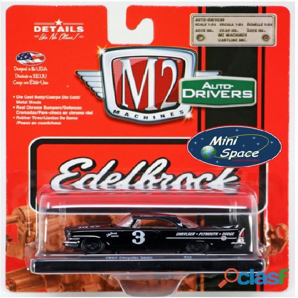 M2 Machines 1957 Chrysler 300C Edelbrock Equipped 1/64 7