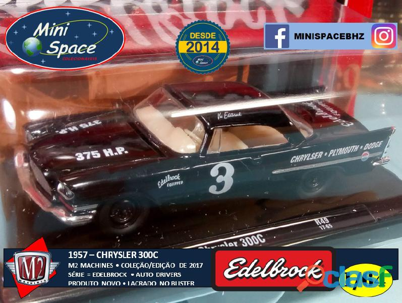 M2 Machines 1957 Chrysler 300C Edelbrock Equipped 1/64 11