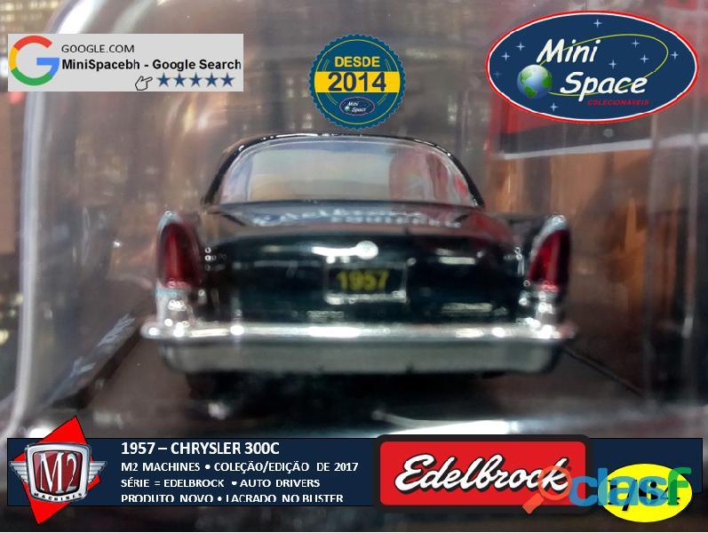M2 Machines 1957 Chrysler 300C Edelbrock Equipped 1/64 6