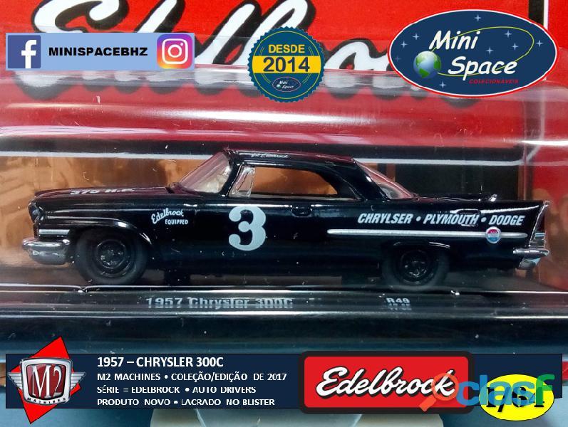 M2 Machines 1957 Chrysler 300C Edelbrock Equipped 1/64 5