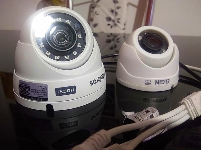 2 cameras digitais hdcvi