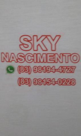Aluguel de sky