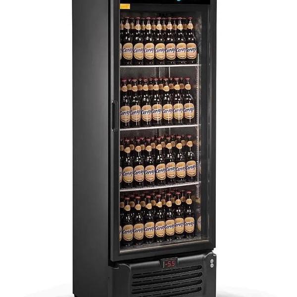 Cervejeiro expositor 505l porta de vidro vcc505v - refrimate