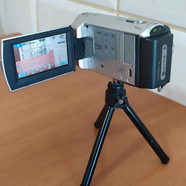 Filmadora sony handycam dcr sx40