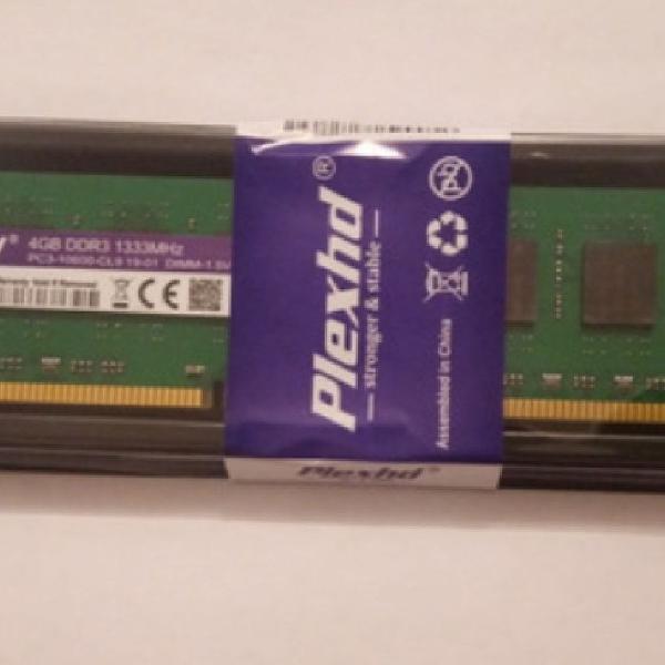Memoria ddr3 4gb 1333 1x4gb novo.