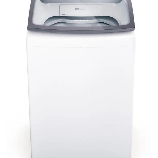 Máquina de lavar brastemp 14kg branca com ciclo tira