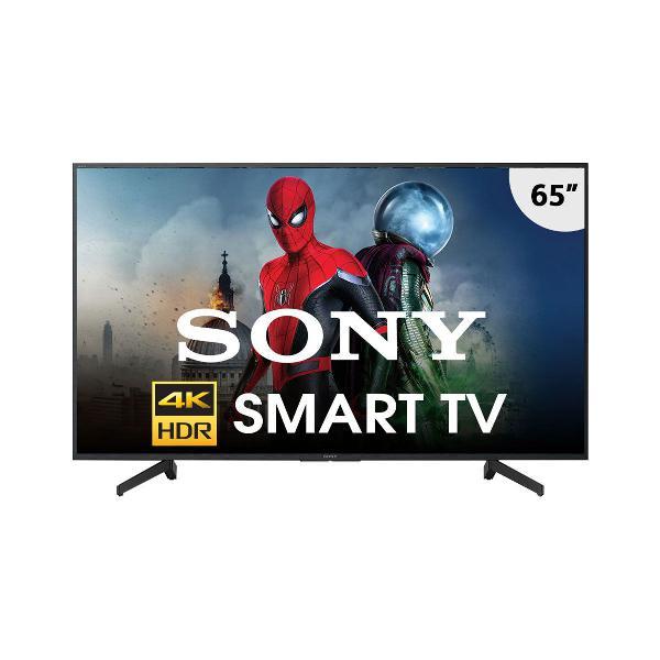 "Smart tv led 65"" sony kd65x705g ultra hd 4k hdr, triluminos"