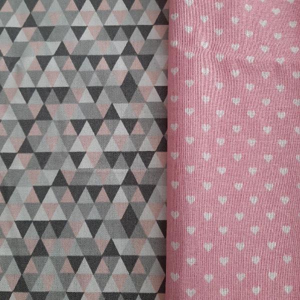 Tecidos rosados