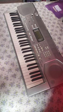 Teclado musical casio ctk 800