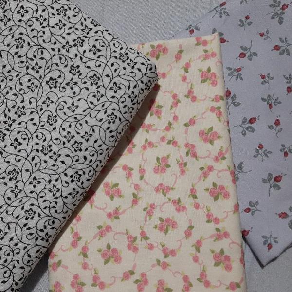 Trio de tecidos