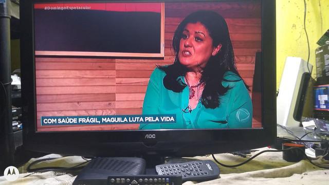 Tv aoc analógica 26 polegadas vai com conversor digital