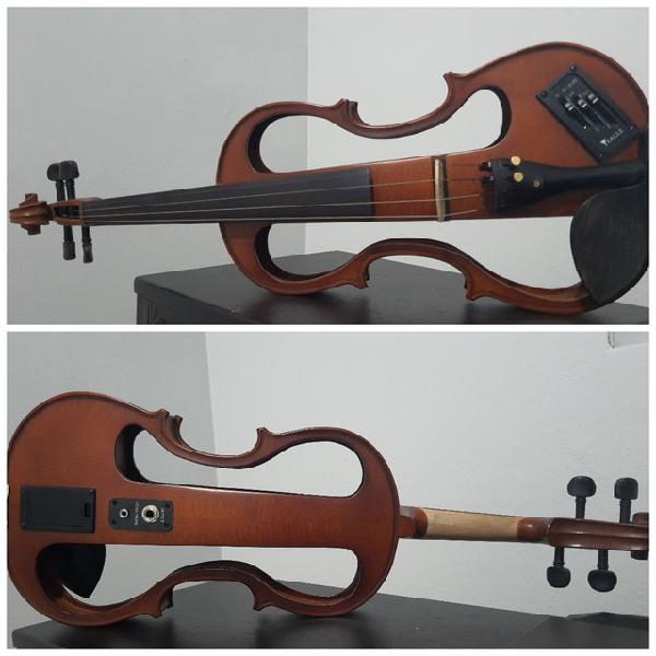 Violino eagle elétrico ve744 - novinho