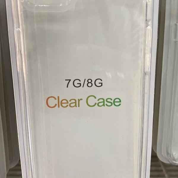 Capa case clear iphone 7 / 8 / se2