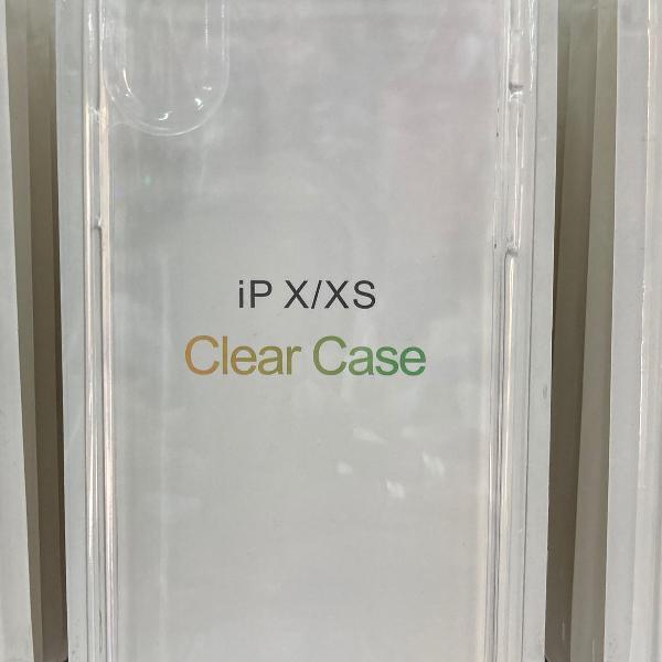 Capa case clear iphone x / xs