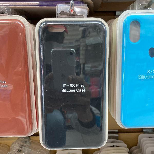 Capa case silicone iphone 6 plus