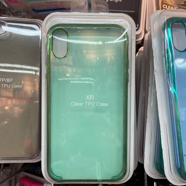 Capa tpu clear cores iphone xr