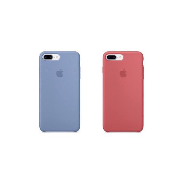 Capinha apple iphone 7plus 8plus silicone 2 por 84,00