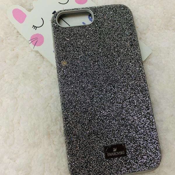 Capinha case iphone 7 e 8 plus swarovski original