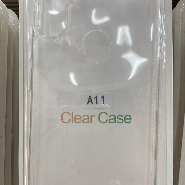 Capinha clear case samsung a11