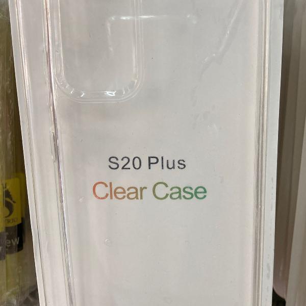 Capinha clear case samsung s20 plus