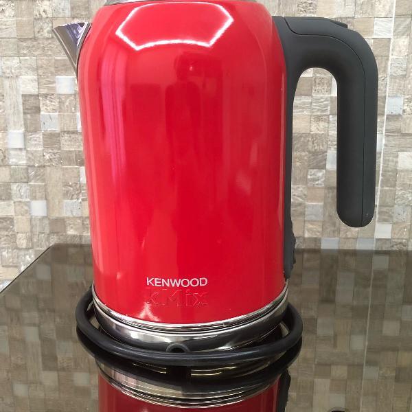 Chaleira elétrica vermelha kenwood