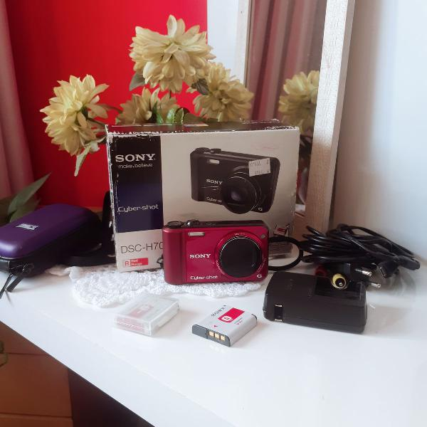 Câmera sony digital cybershot 16.1mp (modelo dsc-h70)