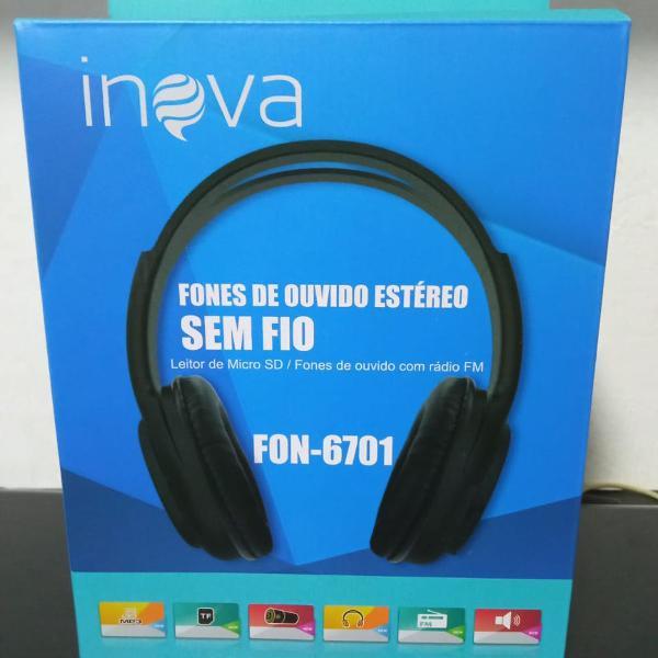 Fone de ouvido bluetooth -inova !!! otima qualidade !!!