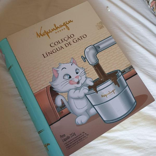 Linda caixa livro comemoração kopenhagem