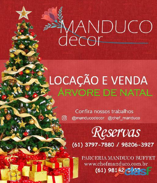 Projeto de decoração natalina e cenografia de natal em Brasilia DF
