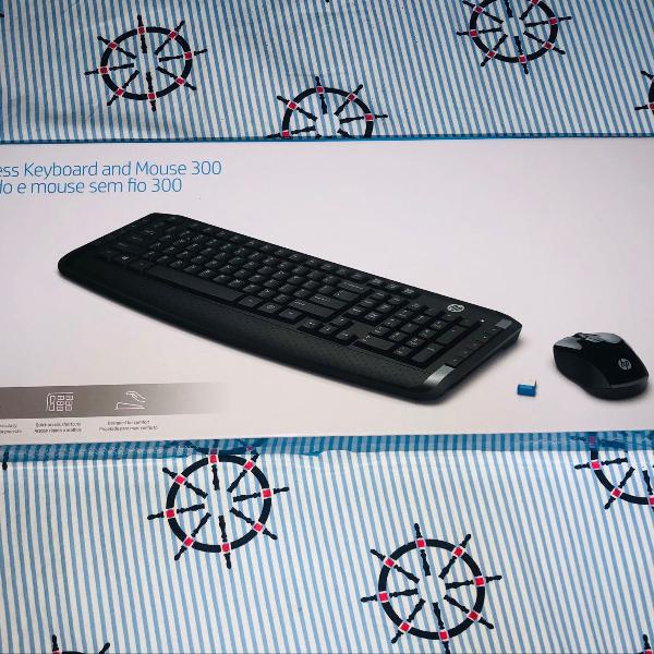 Teclado e mouse sem fio - 300