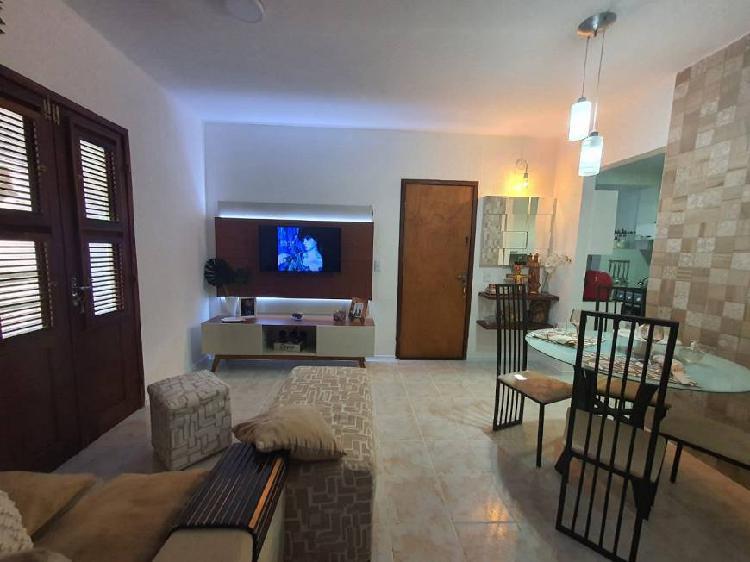 Apartamento semi mobiliado 60 m2 com 2 quartos no sitio são