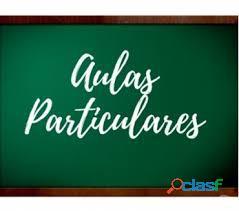 Matemática atenção individual (aulas on line) 1