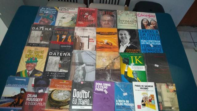 46 livros diversos novos
