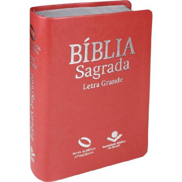 Bíblia sagrada letra grande - direto da fábrica