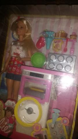 Boneca barbie cozinha original