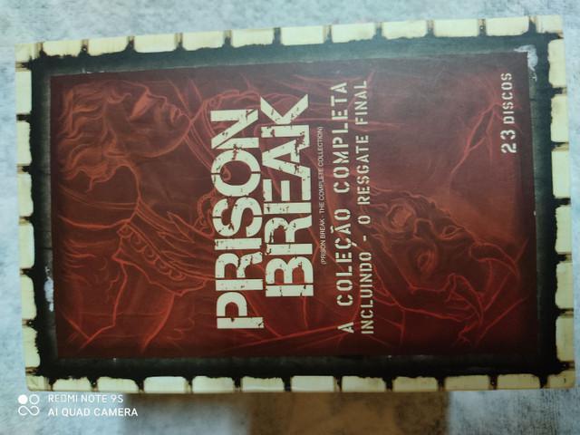 Box prison break + filme (colecionador)