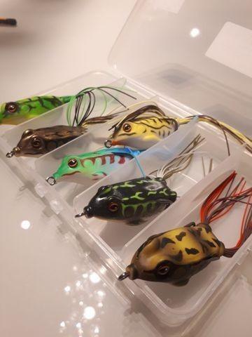 Isca artificial frog o terror das traíras