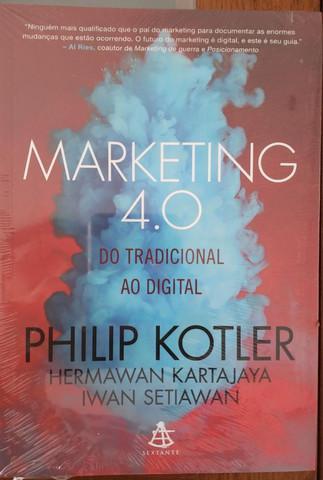 Livro lacrado -marketing 4.0