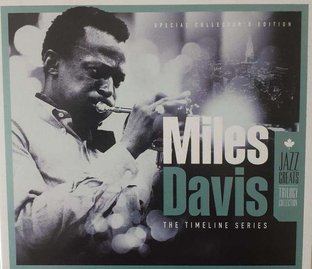 Miles davis - box 3 cd,s the timeline coletânea jazz greats