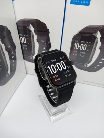 R$220 smartwatch haylou ls02 entrega grátis joinville