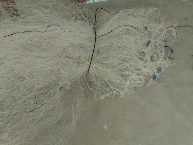 Rede de pesca malhadeira