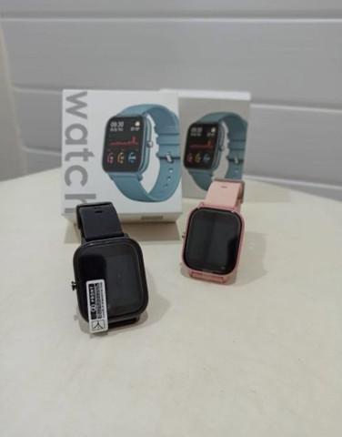 Smartwatch colmi p8 rose e preto