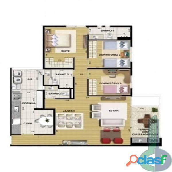 Apartamento 3 Dormitórios 103 m² em São Caetano do Sul   Bairro Santa Maria. 18