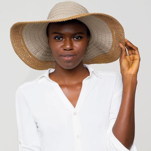 Chapéu uv com proteção solar 'sardenha'