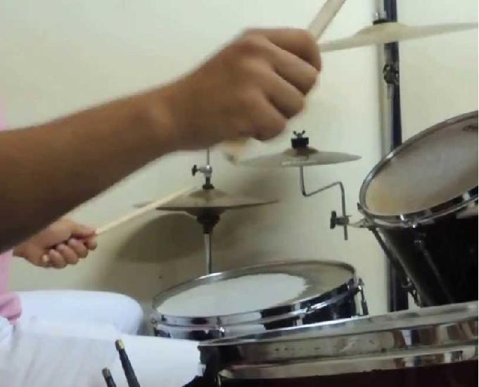 Curso de bateria na ts music em são paulo!