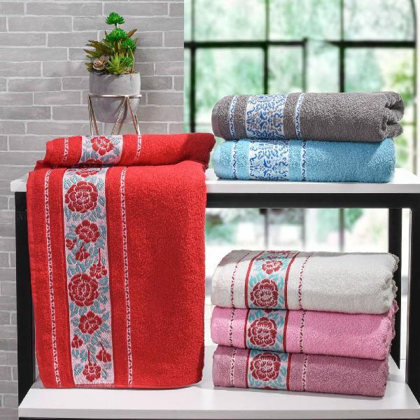 Jogo de toalha de banho 5 peças