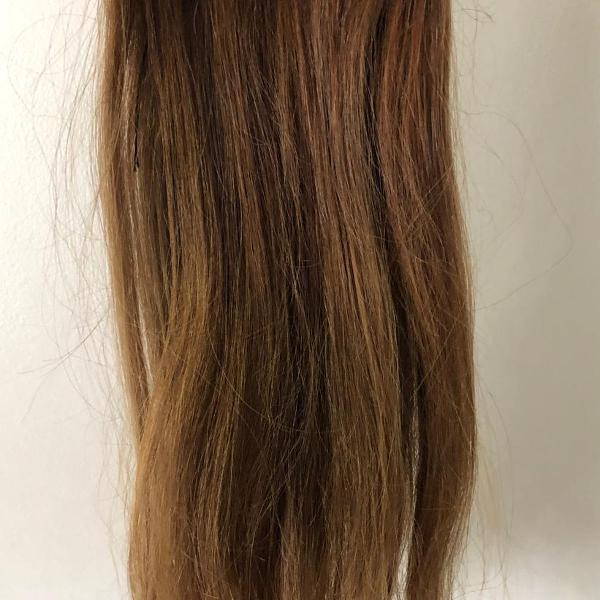 Mega hair - cabelo humano - 37cm - 55g